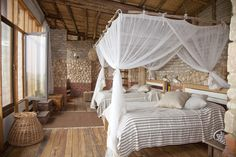 Kyambura Gorge Safari Lodge, Uganda - On Conde Nast's hot list....I can see why!