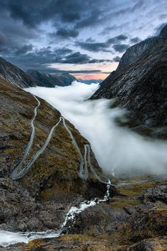 #Trollstigen, Norway (by Pascalk Kiszon )