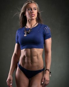 Great Abs www.OnlyRippedGirls.Com #Fitness #Gym #FitnessModel #Health #Athletic #BeachGirl #hardbodies #Workout