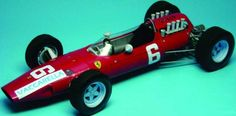 F1 Paper Model - 1965 GP Italia Ferrari 158 (Nino Vaccarella) Paper Car Free…