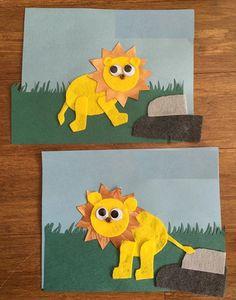 30 Best Lion Craft Idea For Kid Images Day Care Preschools Lion