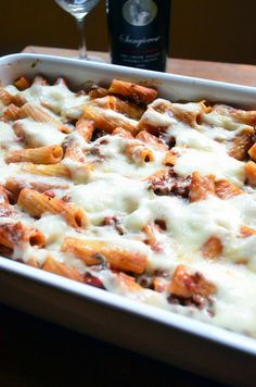 2012-02-15 Creamy Baked Rigatoni with Meat Sauce 107 by From Valerie's Kitchen, via Flickr