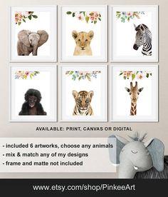 Fl Jungle Nursery Safari Baby Animals