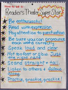 5 Reader's Theater Myths Debunked (and Tips to Make it Work in YOUR Class!) ) ) 5 Reader's Theater Myths Debunked (and Tips to Make it Work in YOUR Class! Teaching Theatre, Student Teaching, Teaching Reading, Guided Reading, Teaching Ideas, Reading Tutoring, Kindergarten Writing, Reading Lessons, Reading Strategies