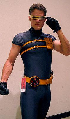 Cyclops, X-men cosplay.