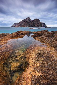 Calheta beach in Porto Santo, Madeira