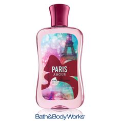 My favorite scent!!!NEW & improved Paris Amour Shower Gel — now with Shea Butter! <3    #LUVBBW