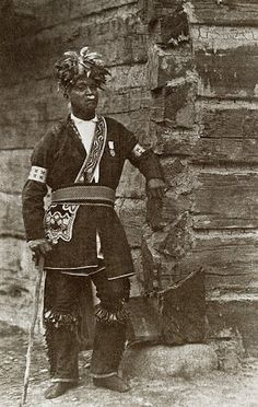 Iroquois man, no date, photographer unknown.