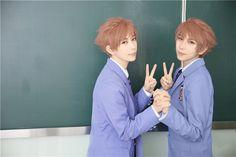 Kaoru & Hikaru - Hitachiin - Ouran cosplay - Mr Willie & KumaQi (3/4)