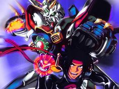 G Gundam Domon and Burning Gundam