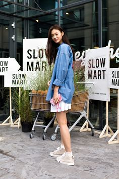 Choi Yoonyoung, Street style women fall 2017 inseoul