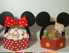 Minnie y Mickey Mouse, fiesta infantil - Dale Detalles Mickey Mouse Clubhouse, Minnie Y Mickey Mouse, Fiesta Mickey Mouse, Mickey Mouse 1st Birthday, Mickey Mouse Parties, Mickey Party, Decoration Minnie, Decoration Evenementielle, Disney Diy