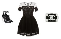 """""""have you ever seen?"""" by hanii-omachiss ❤ liked on Polyvore featuring Blumarine, Chanel and Tamara Mellon"""