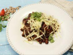 9 csilis bab recept, amit egy mexikói is boldogan falna! Spaghetti, Bab, Ethnic Recipes, Food, Chili Con Carne, Red Peppers, Essen, Meals, Yemek