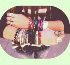 Rydel's bracelts