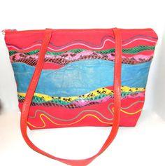 Vintage tote   Carlos Falchi Shoulder bag  multi by FeliceSereno, $38.00