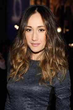 25 medium length haircut ideas perfect for summer: Maggie Q's layered cut