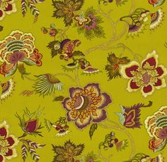 Home Decor Print Fabric- IMAN Samoan Plantation Tourmaline