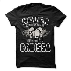 Never Underestimate The Power Of ... CARISSA - 99 Cool  - #striped tee #funny sweatshirt. MORE INFO => https://www.sunfrog.com/LifeStyle/Never-Underestimate-The-Power-Of-CARISSA--99-Cool-Name-Shirt-.html?68278