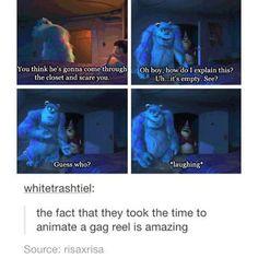 Disney --> no. It's Pixar!