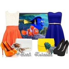 """""""Dory and Marlin: Best Friends"""" by jess-d90 on Polyvore"""