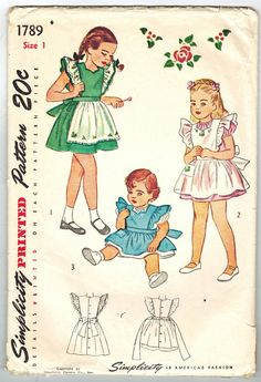 Simplicity 1789 Vintage 40s Cute and Twirly by PatternPlaying