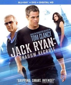 Available in: Blu-ray.CIA analyst Jack Ryan (Chris Pine) uncovers evidence of a Russian conspiracy to destroy the U. Chris Pine, Jack Ryan Tv Series, Jack Ryan Shadow Recruit, Toms, Kenneth Branagh, Access Hollywood, Blu Ray Movies, Academy Award Winners, Kevin Costner