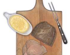 Milch-Buttermilch-Braten an Ingwersauce - Rezeptdatenbank - Swissmilk Butter, Browning, Milk, Recipes, Preserves, Butter Cheese, Oil