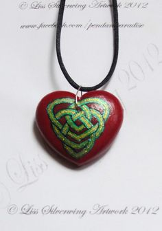 'Celtic Love Knot Heart - Read description ' is going up for auction at  1pm Fri, Aug 17 with a starting bid of $20.
