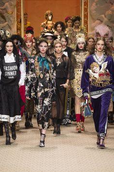 560536a486 Dolce   Gabbana Fall 2018 Ready-to-Wear Fashion Show