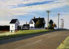 Edward Hopper, Route 6, Eastham, oil on canvas, 1941