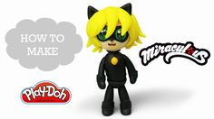 Play Doh Super Awesome Miraculous Cat Noir Play Doh Video