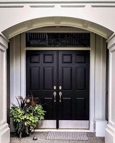 front door painted in farrow ball down pipe porch pinterest the doors ytterd rrar och. Black Bedroom Furniture Sets. Home Design Ideas