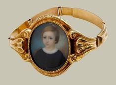 Georgian Bracelet with Miniature Portrait