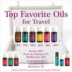 Do you have Essential Oils in your carry on?   Talking about Essential Oils, Distributor #1730421