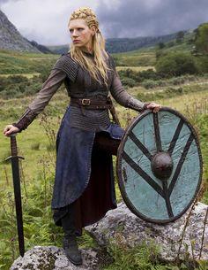 Katheryn Winnick | Lagertha | Vikings. One hot looking viking woman