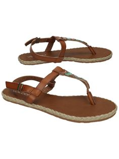 8a60d26c96e16d Cute Boho Sandals from Volcom is all we need.  bluetomato  boho  sandals