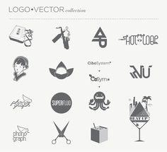LOGO • VECTOR collection by Jacopo Severitano, via Behance
