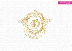 luxury wedding monogram-wedding logo-wedding by Linvit on Etsy