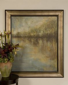 Uttermost Winter Glow by Grace Feyock Framed Painting Print & Reviews | Wayfair
