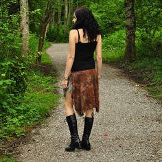 Persephone Skirt  Boho Skirt  Womens Skirt  Short Skirt