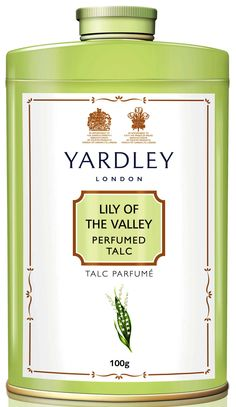 Lily of the Valley Talcum Powder