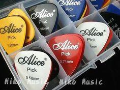 24pcs Acoustic Electric Guitar Picks Plectrums 1 Plastic Picks Box Case   eBay