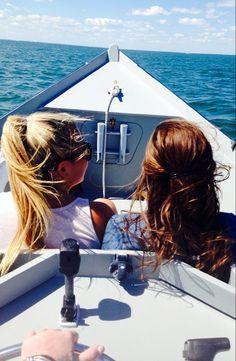 capecodliving:   every blonde needs a brunette best friend