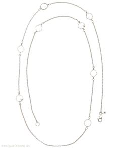 Silpada Sterling Silver and Cubic Zircona Necklace