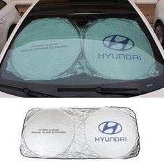 Auto Rear Front Windshield Car Sunshades For Hyundai solaris accent i30 ix35 i20 elantra santa fe tucson getz sonata i40 i10