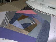 Мастер-класс Пэчворк МК в стиле крейзи Ткань фото 4