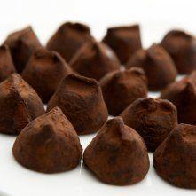 Truffes café-chocolat
