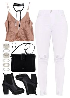 """Untitled #1375"" by asoul4 ❤ liked on Polyvore featuring Forever 21 and Mudd"