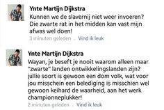 Permalink voor ingesloten afbeelding Plea for reinstating slavery. The Netherlands in 2014. This asshole is forever documented.